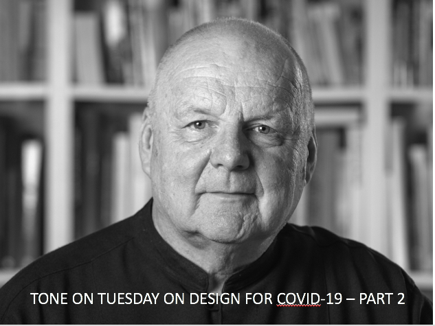 Tone on Tuesday 25: On design for COVID-19 – Part 2