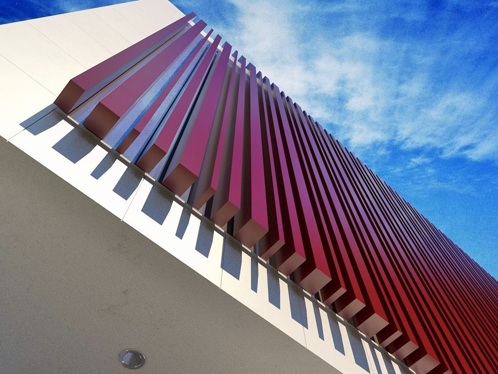 Woodform Architectural's Fintrax façade system