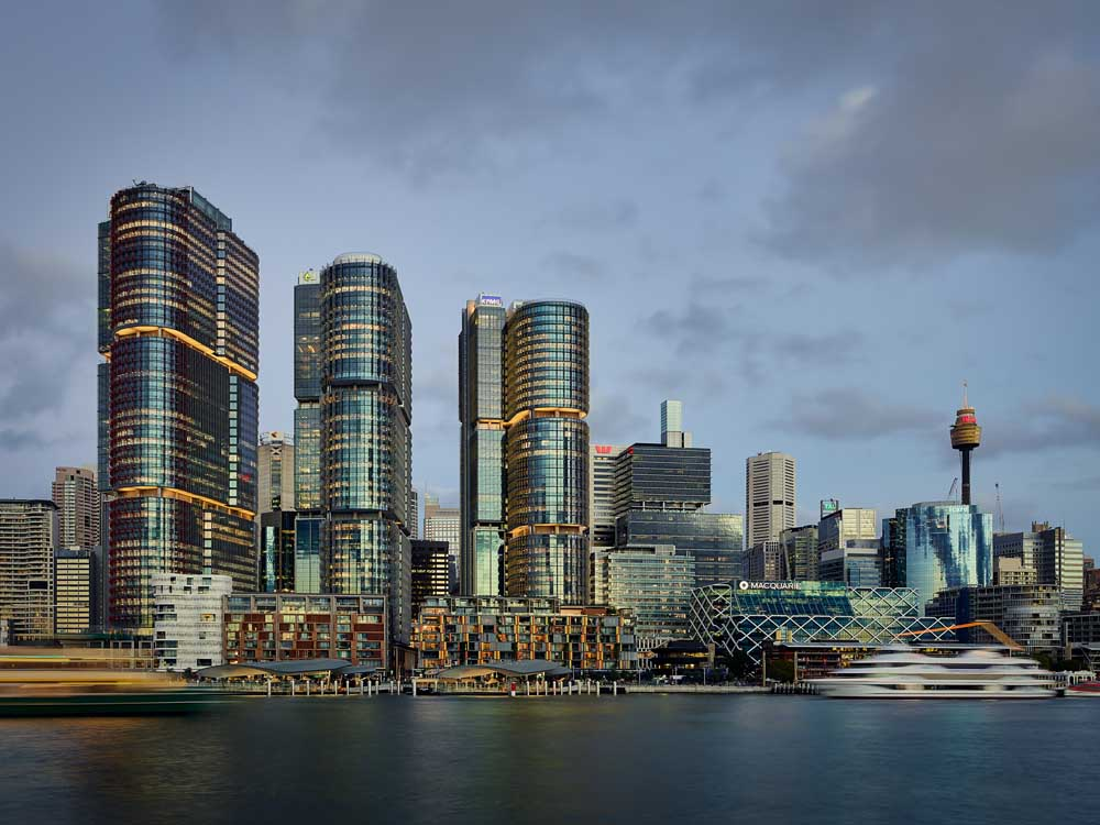 Barangaroo waterfront apartments