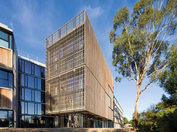 Rmit Building By H20 Architects The Seed For Timber S