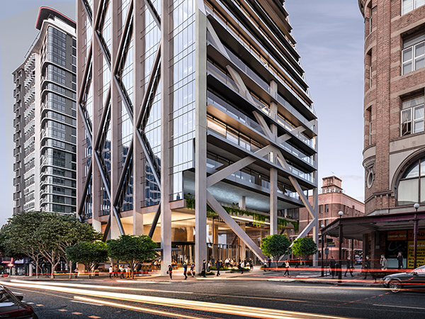 Fortitude Valley to get future-focused office block designed by bureau^proberts'