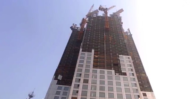 World S Tallest Prefab Building Constructed Three Storeys