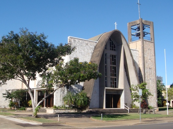 AAA looks at St Mary's Star of the Sea Cathedral, Darwin (1957-1962)