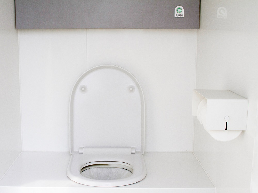The waterless LooWatt system offers a sustainable alternative to conventional off-grid toilets
