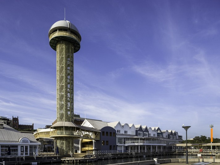 "Newcastle's ""phallic""-shaped Queens Wharf Tower will be demolished in late 2018 or early 2019. Image: Citigate Motel"