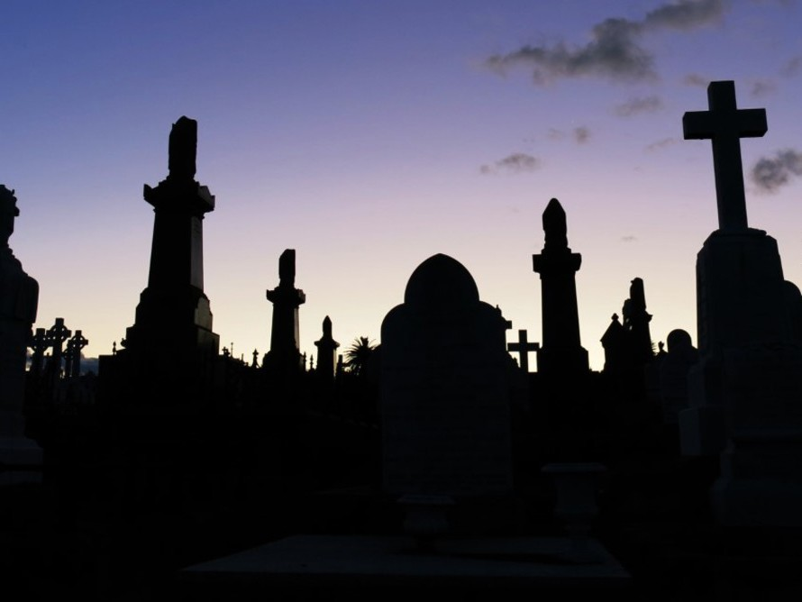 Most of ther major cemeteries in Australian cities, including Sydney's Waverley Cemetery, date back to the 1800s. Photography by Kate Ryan