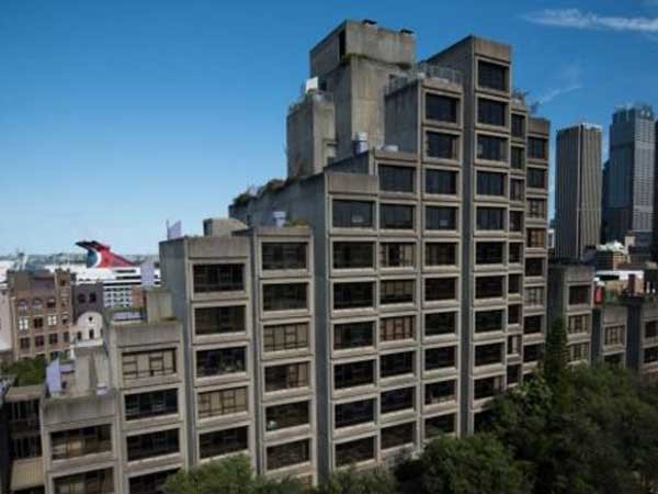 The Sirius public housing building in The Rocks, Sydney
