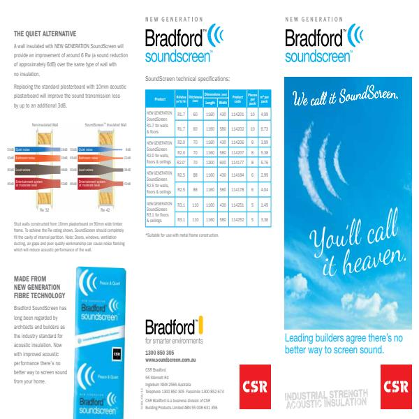 New Generation SoundScreen Brochure