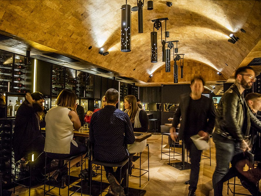 Flexibility and ambiance dominate in Melbourne's new wine cellar and bar