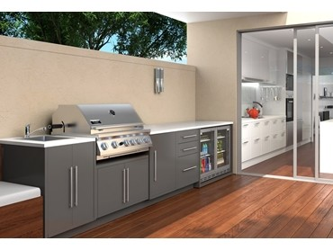 All-weather outdoor kitchen sets the pace in outdoor ...
