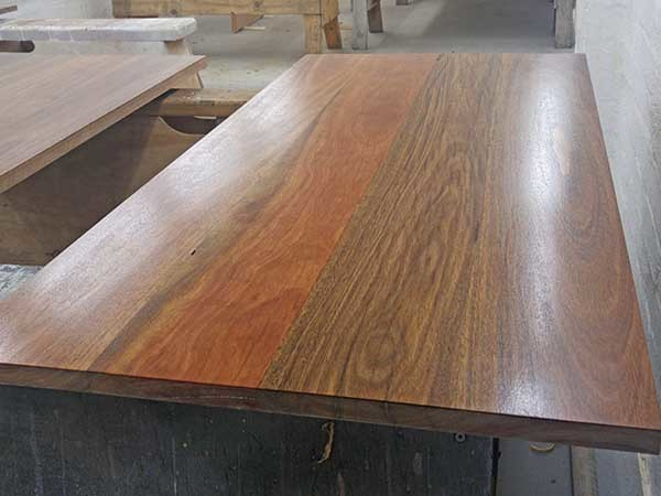 The Spotted Gum benchtop