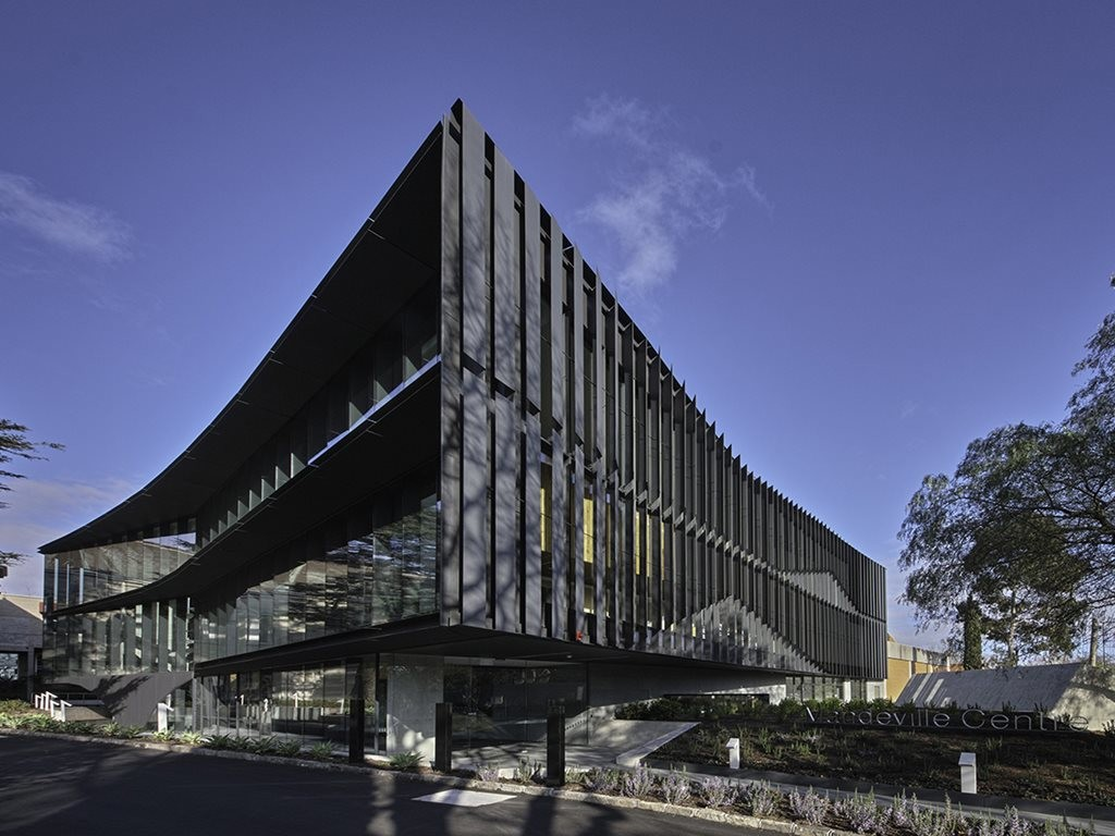 Yesterday Architectus scored the World Architecture News Education Award, along with a string of accolades and platitudes for its design of the Mandeville Centre at Loreto Mandeville Hall Toorak. Image: Supplied
