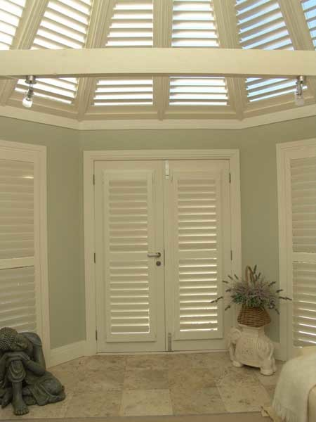 The amount of light, air and heat allowed in and out can all be significantly impacted by the type of shutter specified
