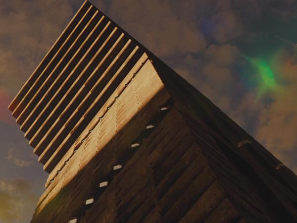 Edificio de cine de gran altura