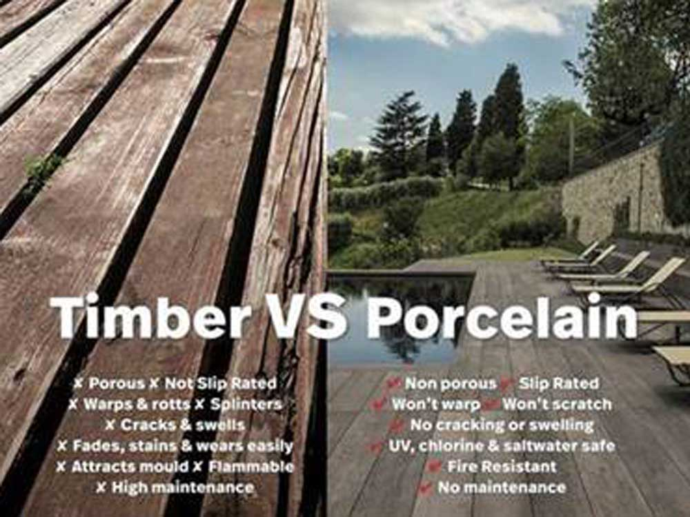 Timber Vs Porcelain
