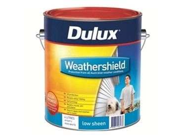 Dulux Weathershield Low Sheen Acrylic - 601-LINE