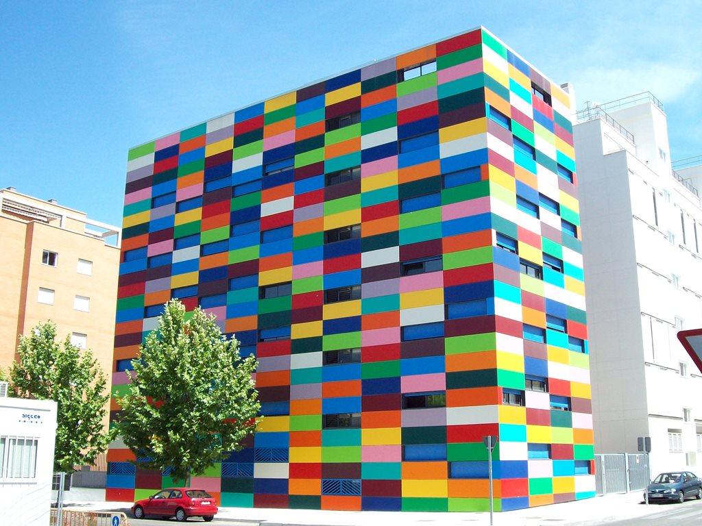 Incredible 10 Colourful Buildings From Around The World Architecture Amp Design Door Handles Collection Olytizonderlifede