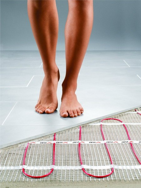 Hydronic Or Electric Radiant Floor Heating Product In