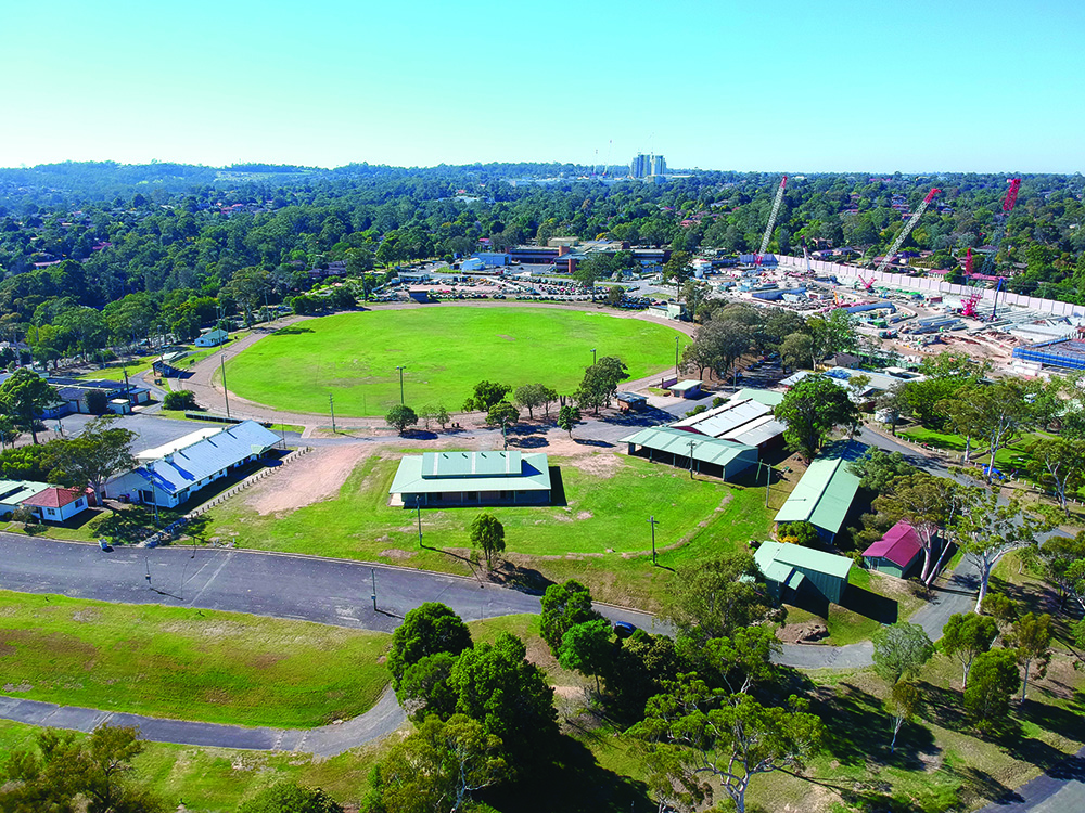 Peachy Hills Shire Council To Redevelop Castle Hill Showground Architecture Amp Design Door Handles Collection Olytizonderlifede