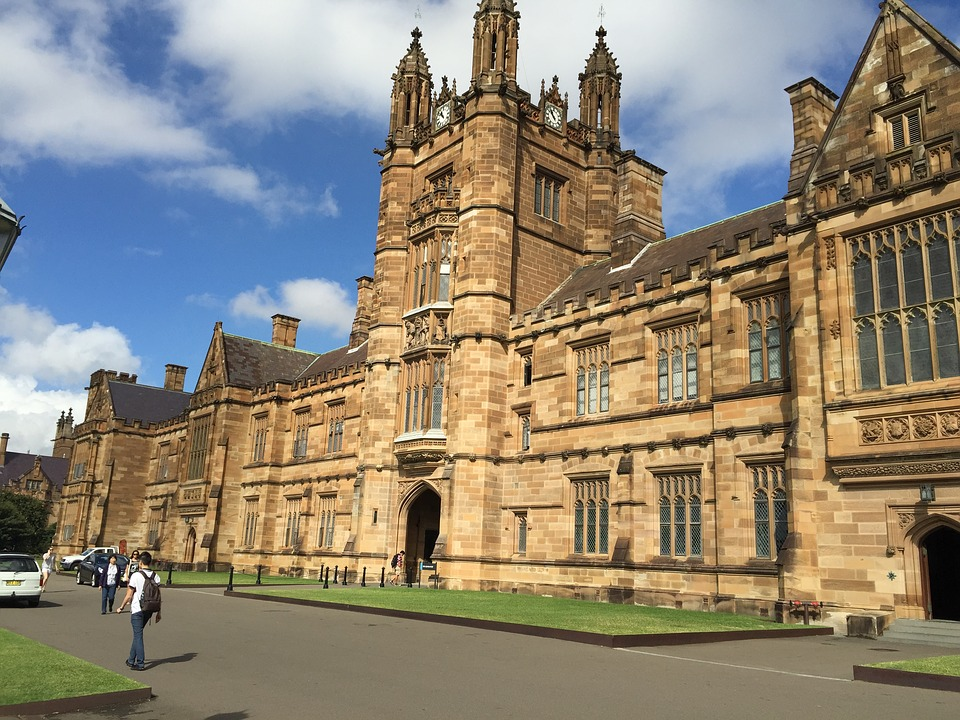The University of Sydney. Image: pixabay