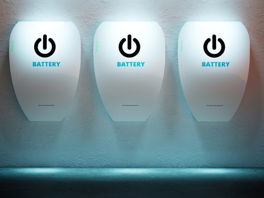 Batteries may be a good way to store energy in the home. Image: Shutterstock