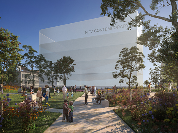 Victoria announces competition for the design of NGV Contemporary