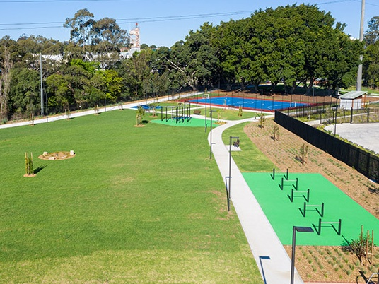 Homebush gets some brand new green space. Image: Supplied