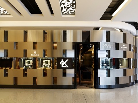 High End Retail Design Lk Jewellery Sydney And Melbourne
