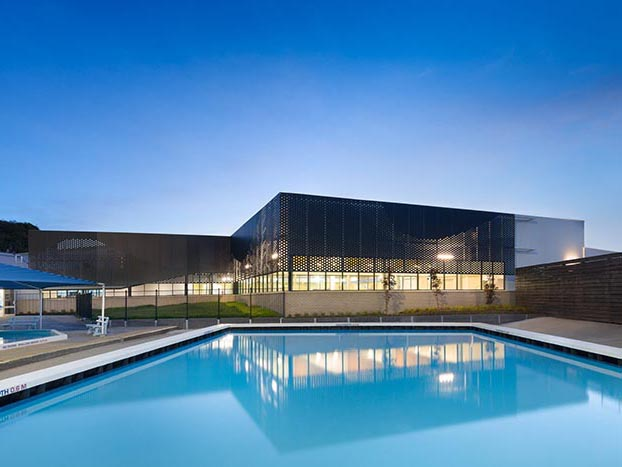 Exterior facade image of Sunbury Aquatic Centre