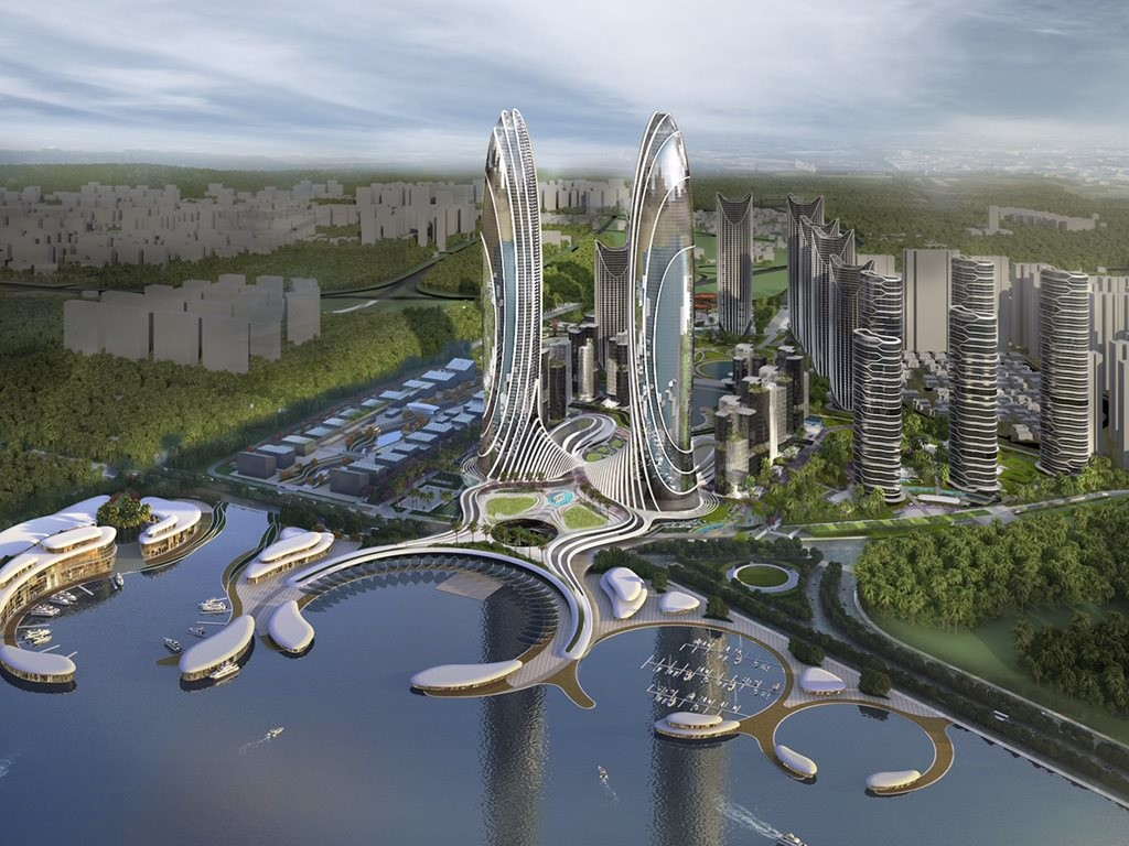 Dbi Design Creates A Sustainable Micro City On Reclaimed