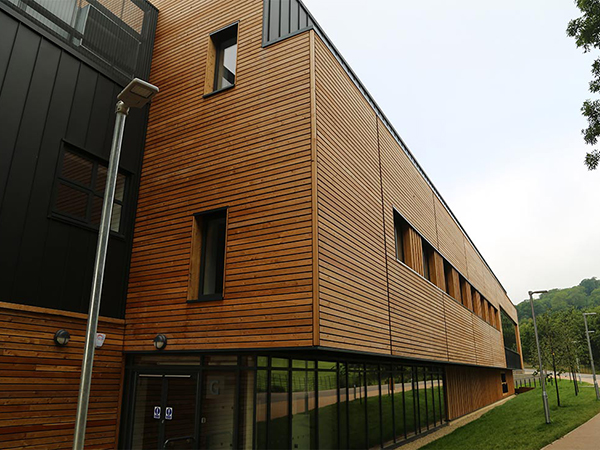 External Timber Cladding For Building