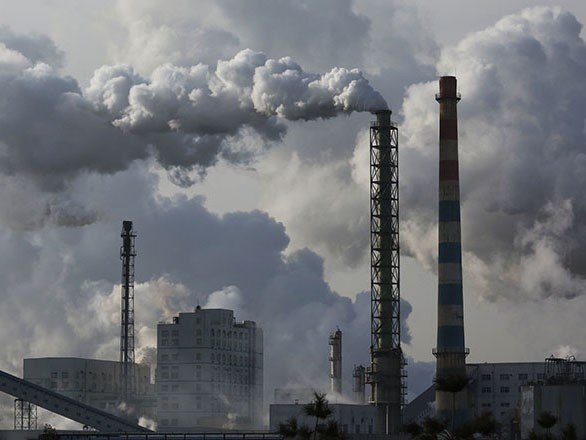Smog in China. Image: Greenpeace