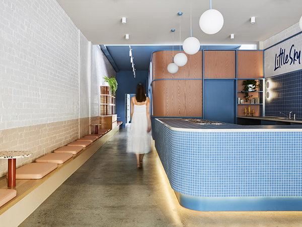 The sweet design of Little Sky Gelateria
