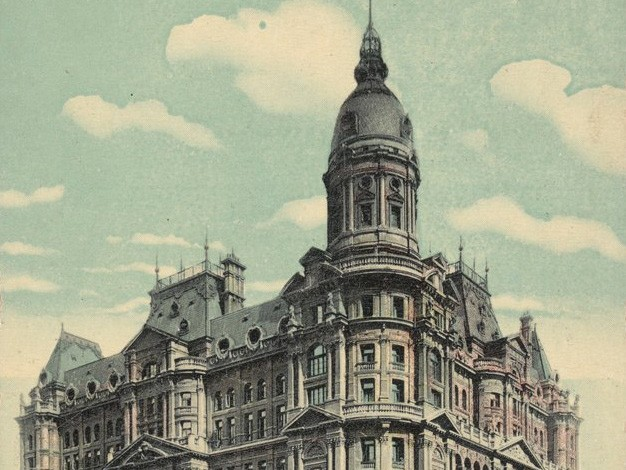 Image: Federal Coffee Palace, Melbourne, demolished in 1973