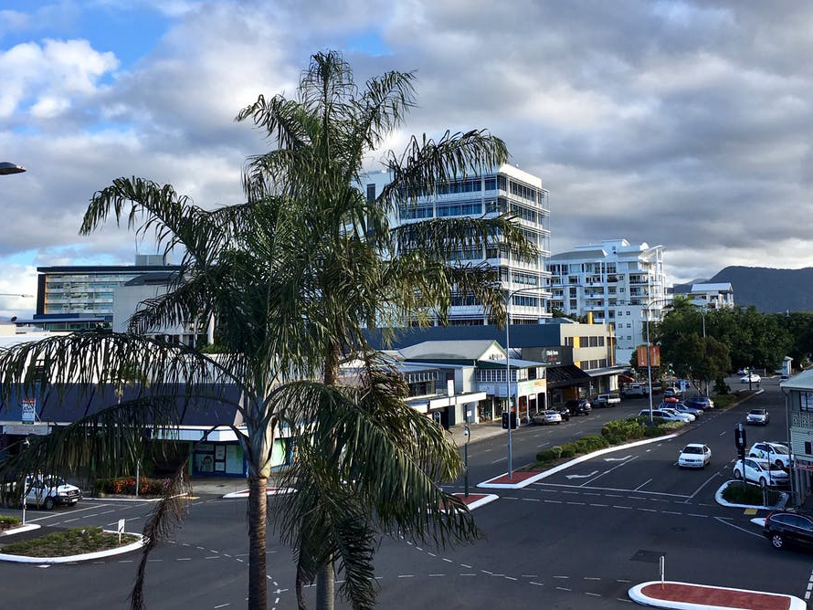 Cairns has lots of hard grey infrastructure but much less green infrastructure that would reduce the impacts of the city's growth. Karine Dupré, Author provided