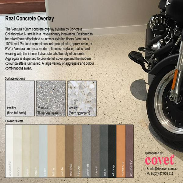 Covet concrete overlay systems brochure