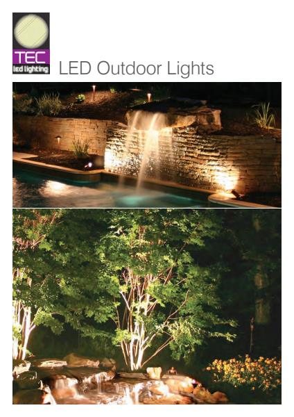 Commercial and Domestic LED Outdoor Lights from Tec-Led