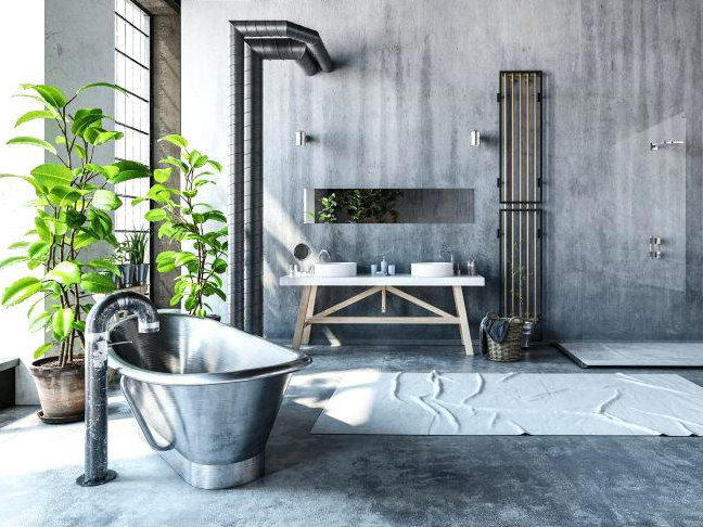 Top Bathroom Design Trends 2019 Industrial Is Back