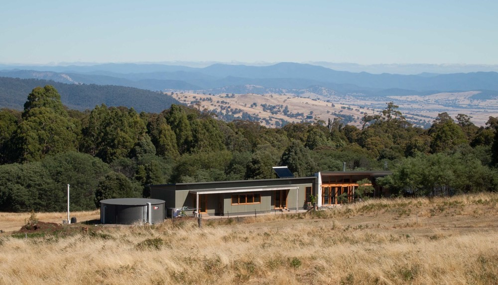 Sustainable prefab design and construction system by for Rural home designs nsw