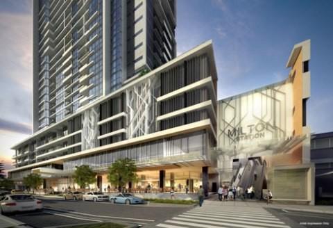 Brisbane Lines Up First Transit Oriented Development