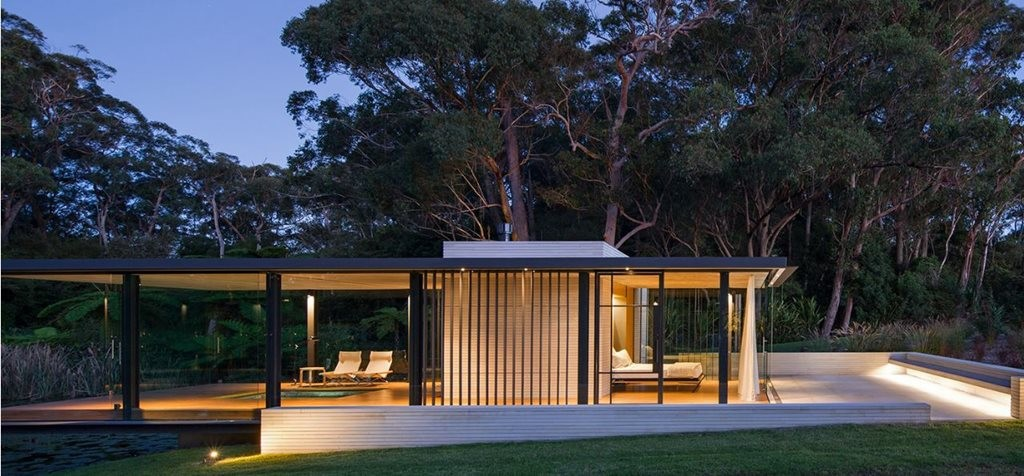 Wirra walla pavilion is this australia s version of glass for Pavilion style home designs