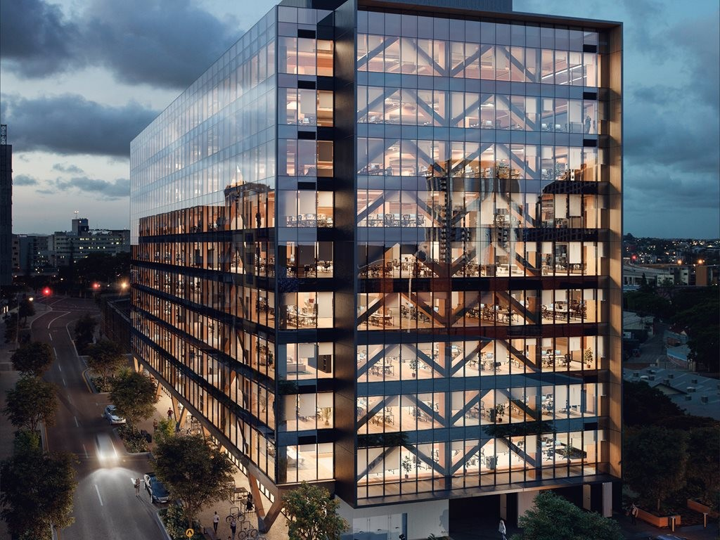 25 King is set to become the tallest and largest engineered timber office building in the world. Image: Lendlease