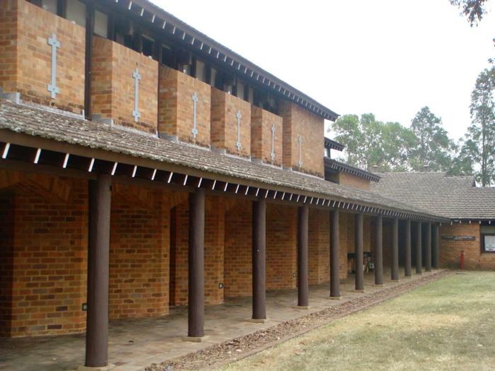 Tocal College exterior columns