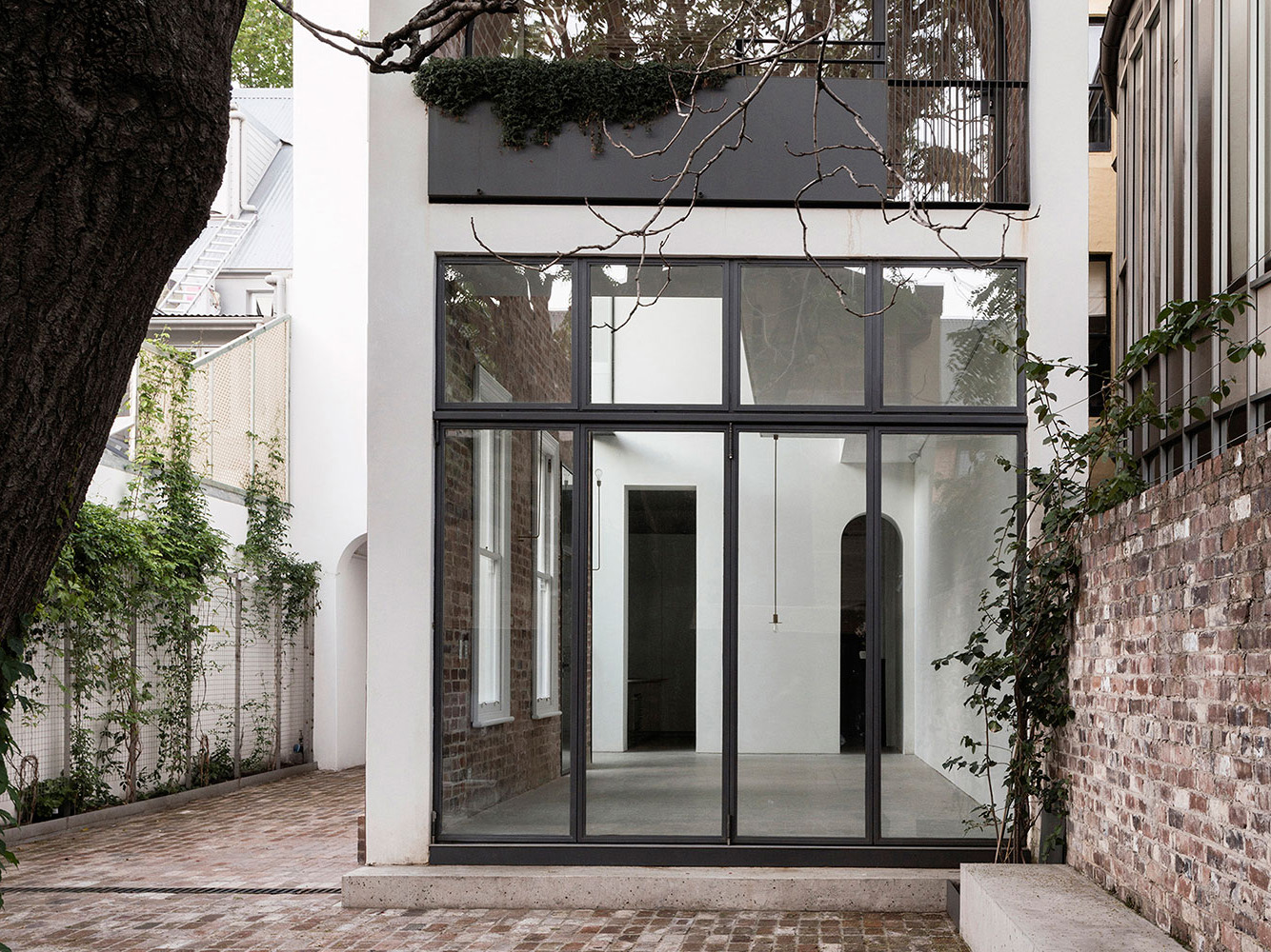 The Renato D'Ettorre Architects entry involved the restoration and modification of a heritage-listed three storey late Victorian Italianate-style C1890's terrace house and C1860's sandstone stable in inner Sydney.  Image: Supplied