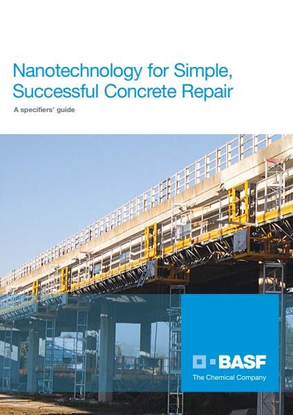 Nanotechnology for Simple, Successful Concrete Repair