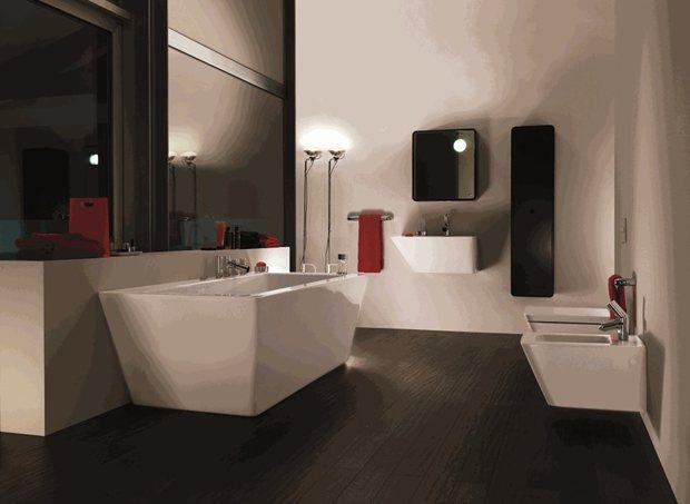 Small Bathroom Designs No Toilet back to basics in bathroom design | architecture and design