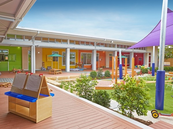 Child Care Centre Designed From Kid S Perspective But Uses Grown Up Materials Architecture And