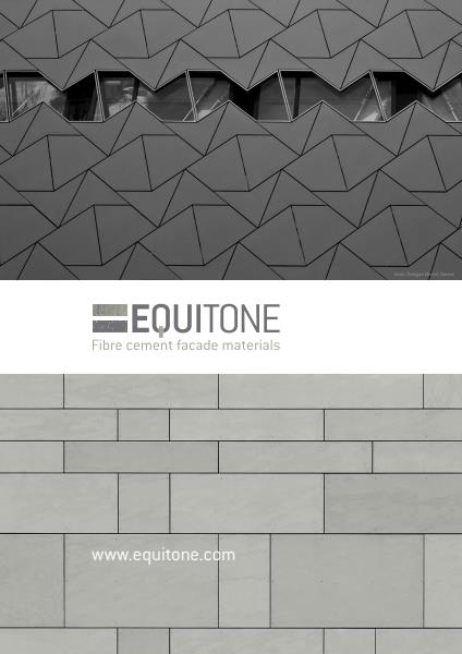 CSp Architectural: Equitone brochure