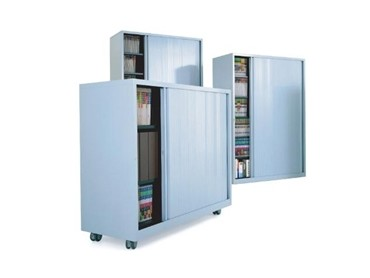 Mobile Storage Cabinet - Squadron Tambour Door Storage Cabinet (PSU 1050.700)
