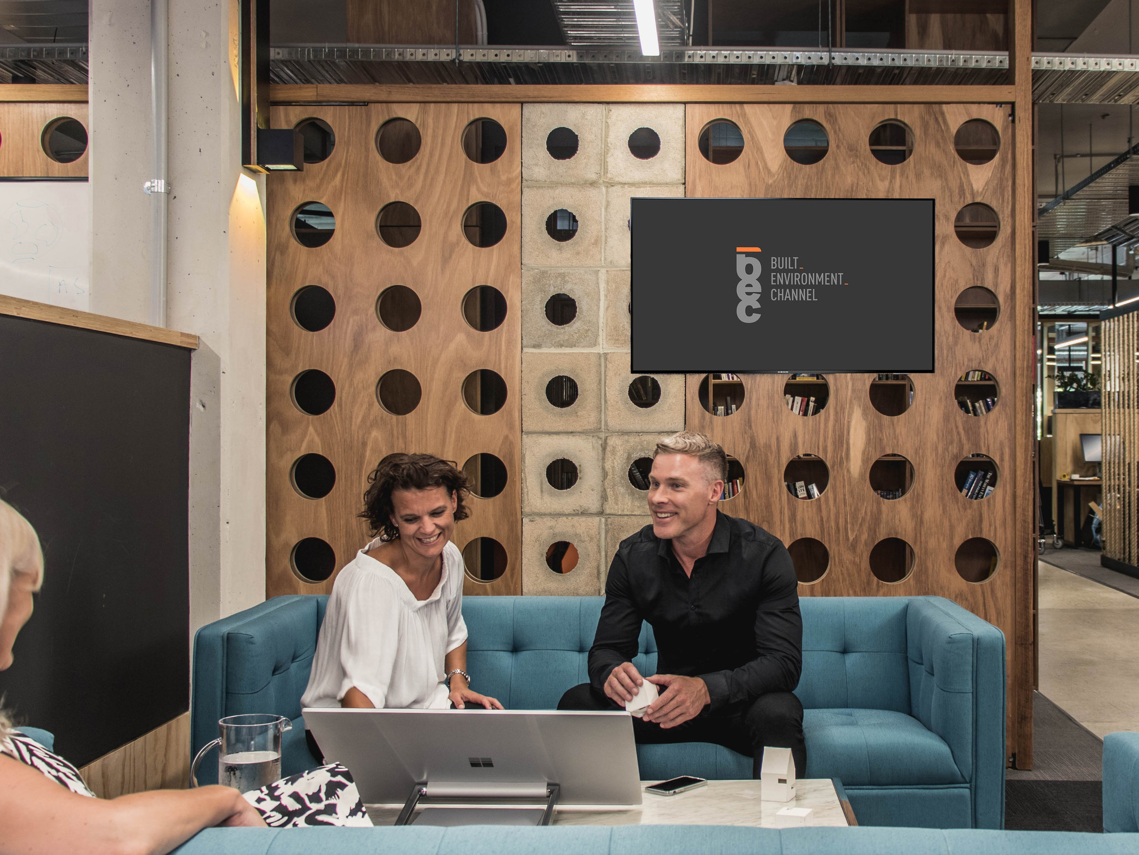 The Australian Institute of Architects (AIA) has partnered with the Built Environment Channel (BEC) to stream industry news, local and global projects, and the latest product information, to practices around the country. Image: BEC